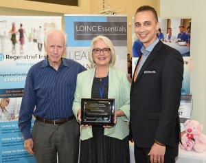 Pamela D. Banning, 2018 winner of the LOINC Award for Distinguished Contributions