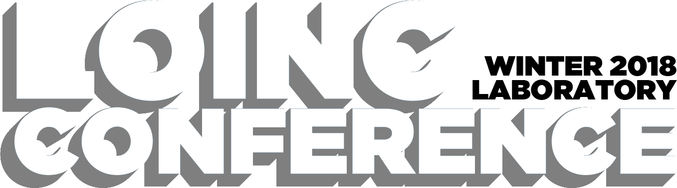 LOINC Conference Fall 2018 Clinical