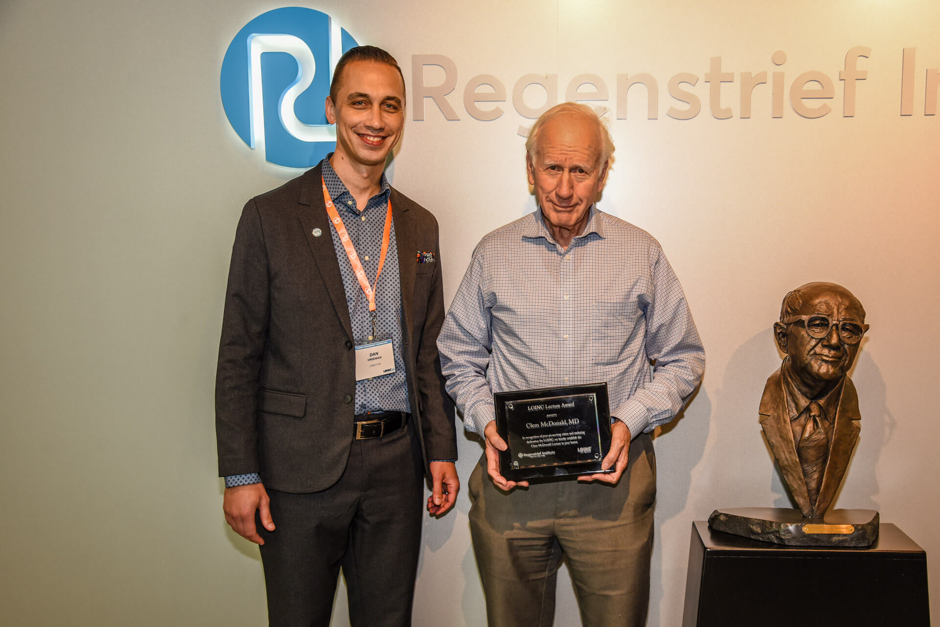 Dr. Daniel Vreeman and Dr. Clem McDonald LOINC Lectureship Award