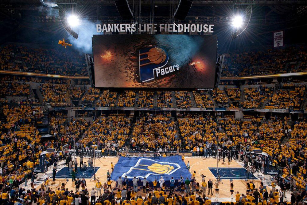 Indianapolis is home to the Indiana Pacers of the National Basketball Association